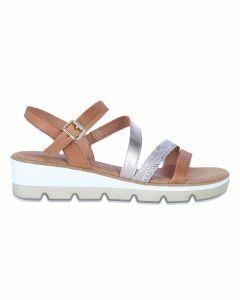 MARCO TOZZI Sandalen met sleehak